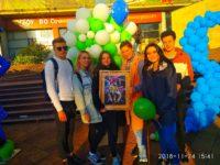 Студенты приняли участие в Дне города!